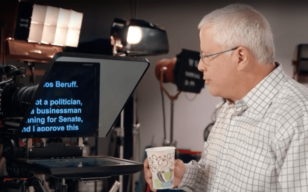 What is Carlos Beruff really running for?