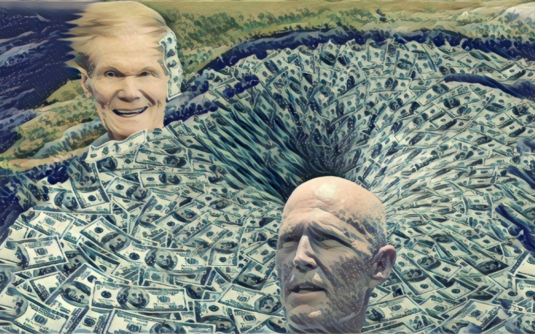 2018 Senate Preview: Hurricane Scott About to Make Landfall on Bill Nelson's Face
