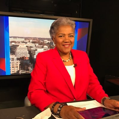 Donna Brazile Reportedly Pondered Replacing Clinton With Biden in 2016