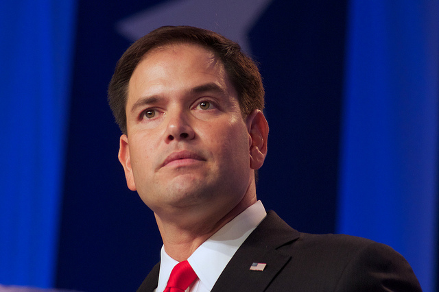 Rubio fires chief of employees for 'improper conduct'