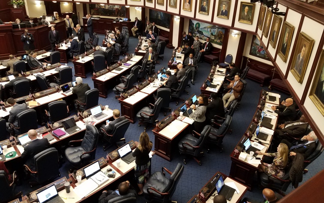 House wraps up first week of session with a full slate of business
