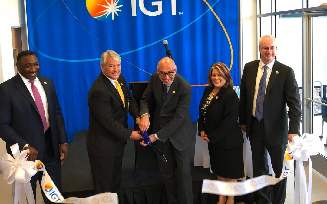 Florida Lottery Vendor IGT Opens High-Tech Facility in Lakeland