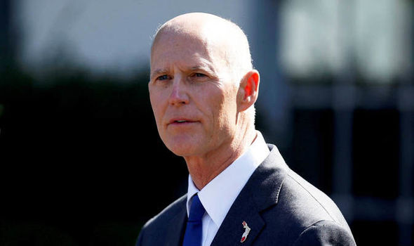 Rick Scott receives the backing of most of Florida's sheriffs