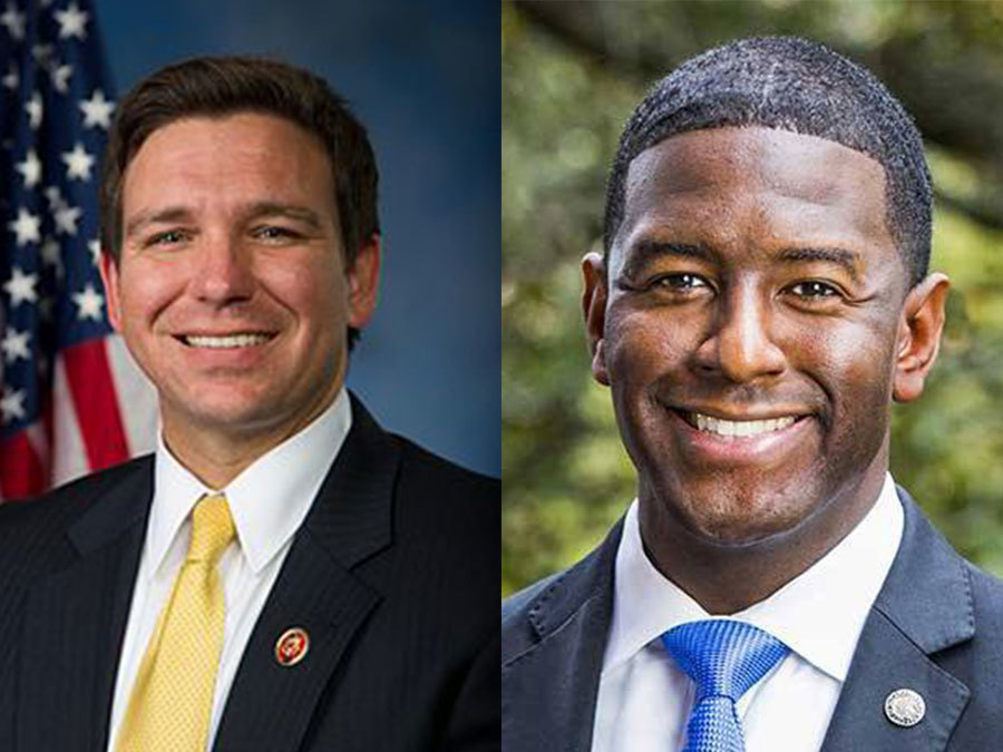 Florida Chamber poll shows Gillum with narrow lead in governor's race