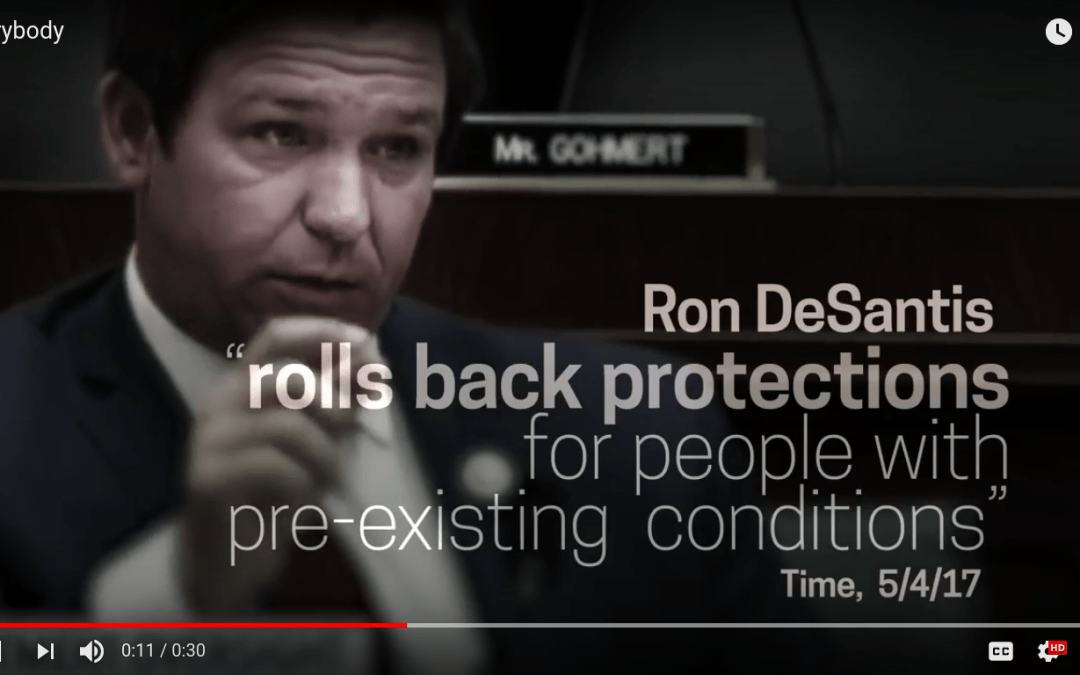 New ad from Gillum, Dems accuse DeSantis of denying healthcare to Floridians