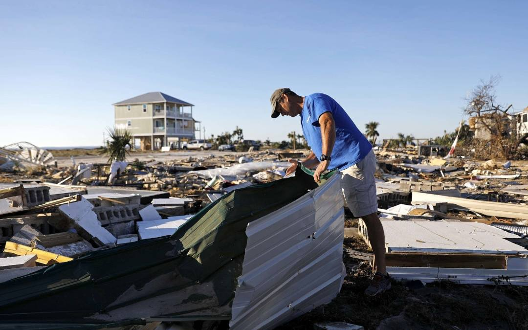 Three months after Hurricane Michael and the residents of the Panhandle are still struggling to recover