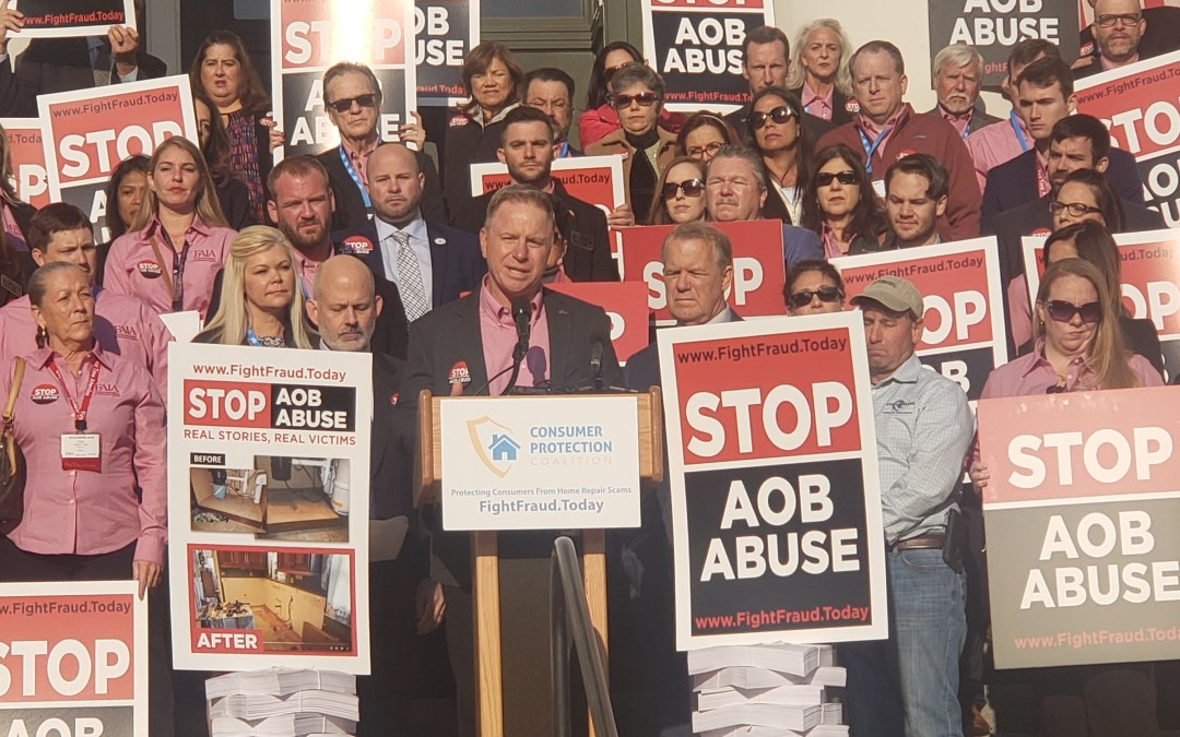 A consumer coalition is hopeful this is the year state lawmakers address the issue of fraud and litigation in AOB's