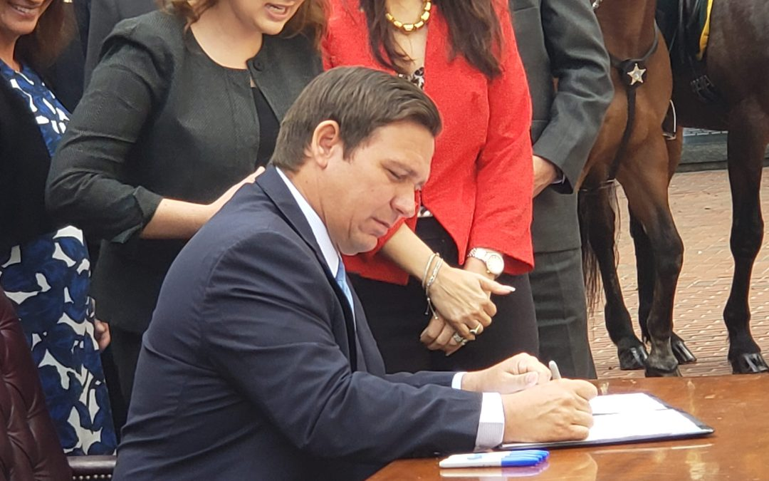 Gov. DeSantis readies his veto pen as the Florida budget is  expected to arrive on his desk Friday