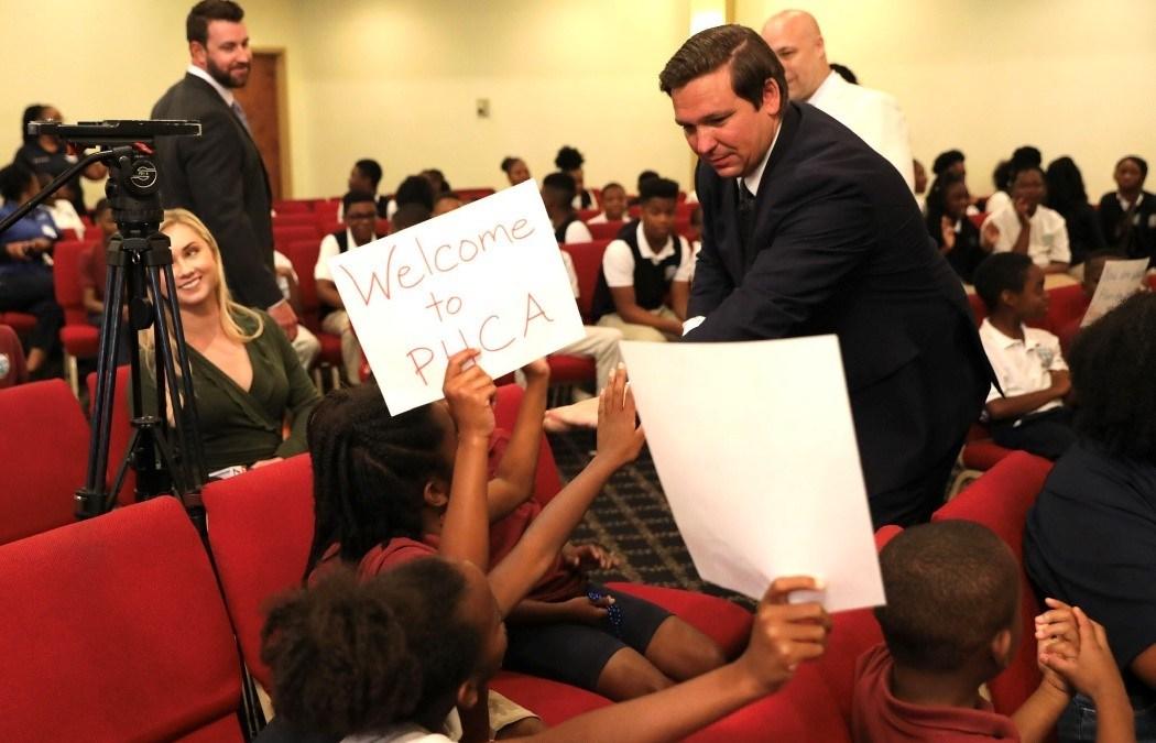 "Saying it's time to ""empower parents,"" Gov. DeSantis signs new school voucher program into law"