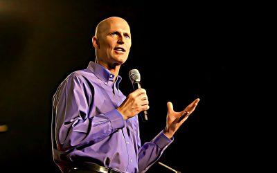 "Rick Scott takes ""trip down memory lane"" following Charlie Crist's gubernatorial announcement"