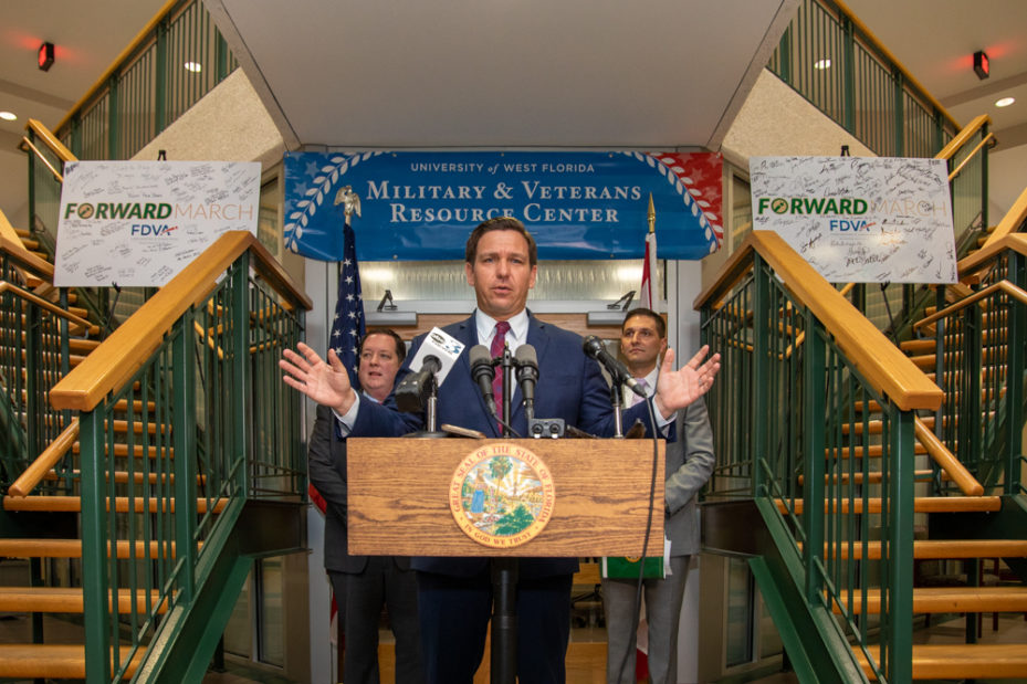 DeSantis announces new housing initiative to assist veterans in buying homes