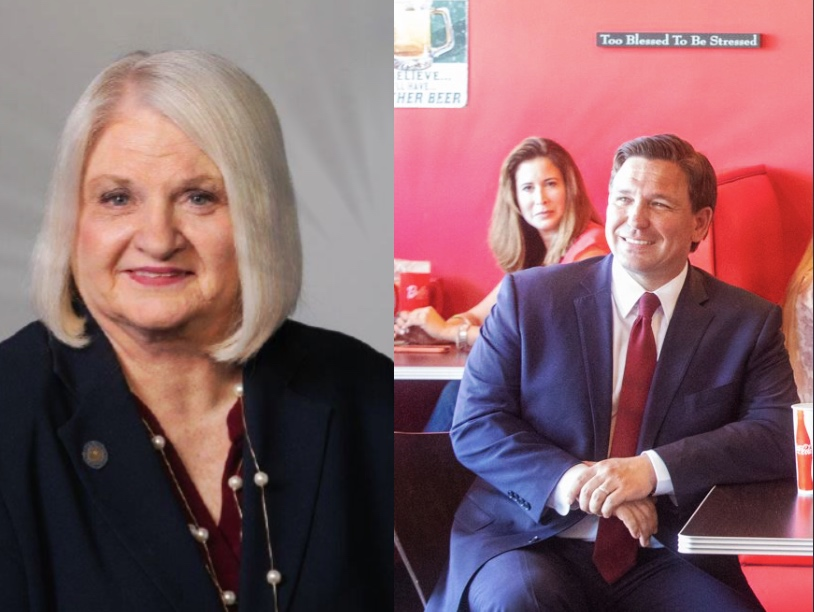 Democrat Linda Stewart attacks DeSantis for focusing too much on hospitalized victims of Covid-19
