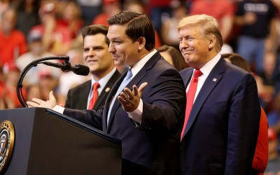 Prediction markets have Ron DeSantis as huge favorite over Nikki Fried