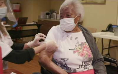 Florida leads the nation in vaccines for ages 65+
