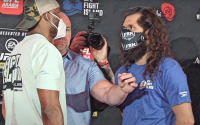 Masks not in the cards for UFC 261 in Jacksonville