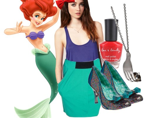 Character Wear: The Little Mermaid