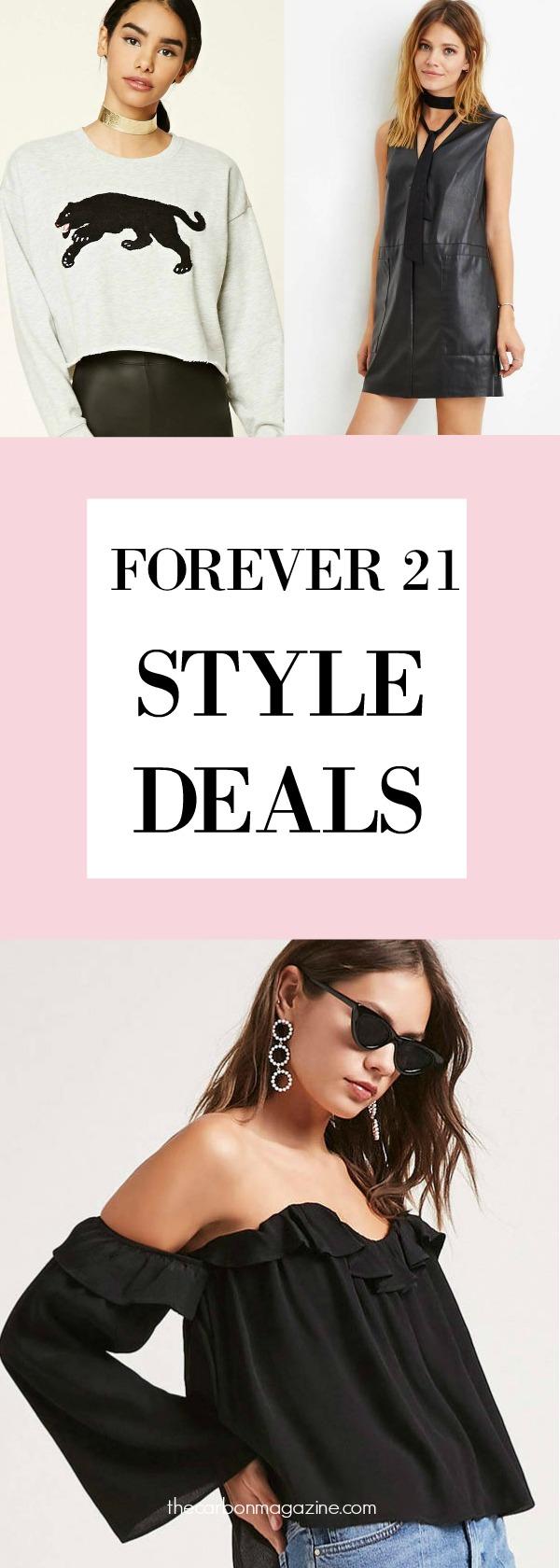 Forever 21 Style Deals November