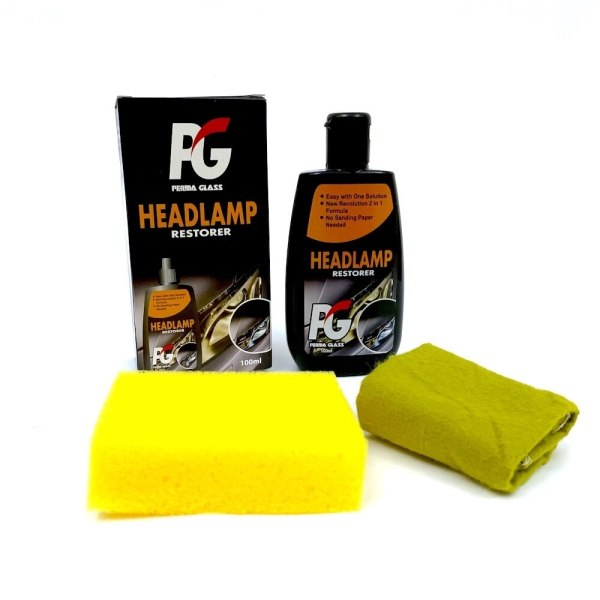 PG Perma Glass Headlamp Restorer Kit