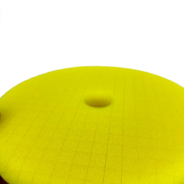 grid pattern medium cut paint correction buffing pad for dual action machine