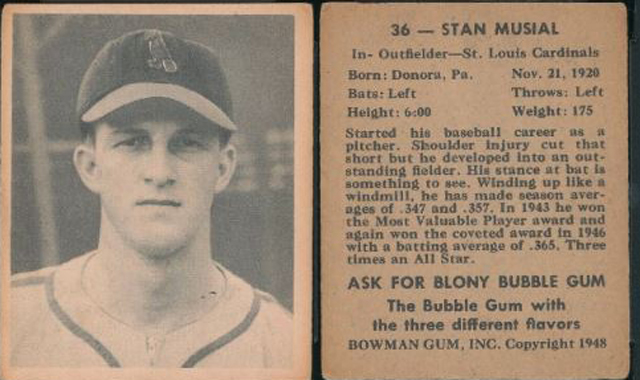 When Musial Did Not Wear No 36 Or Did He The Cardinal