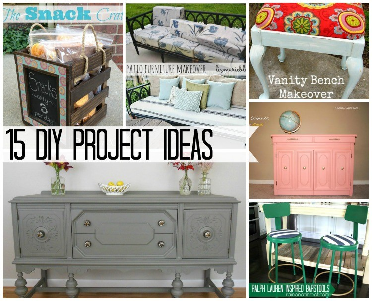 15 DIY Project Ideas from The Weekly Creative