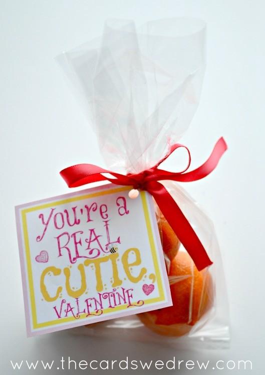 Clementine Valentine Free Print Non Candy Valentine