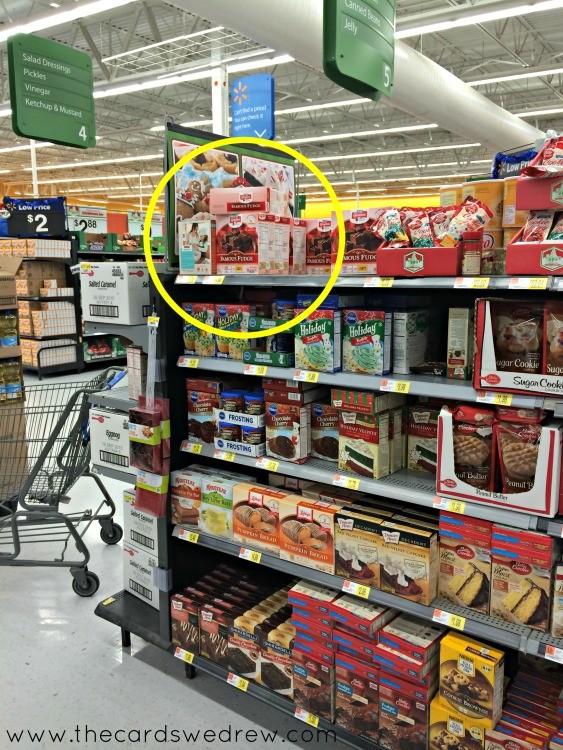 Nestle Famous Fudge Kit In Walmart The Cards We Drew