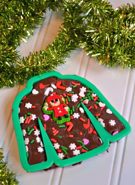 ugly sweater fudge