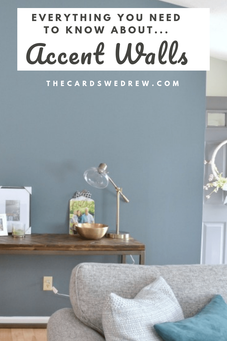 Accent Wall Ideas For The Living Room The Cards We Drew