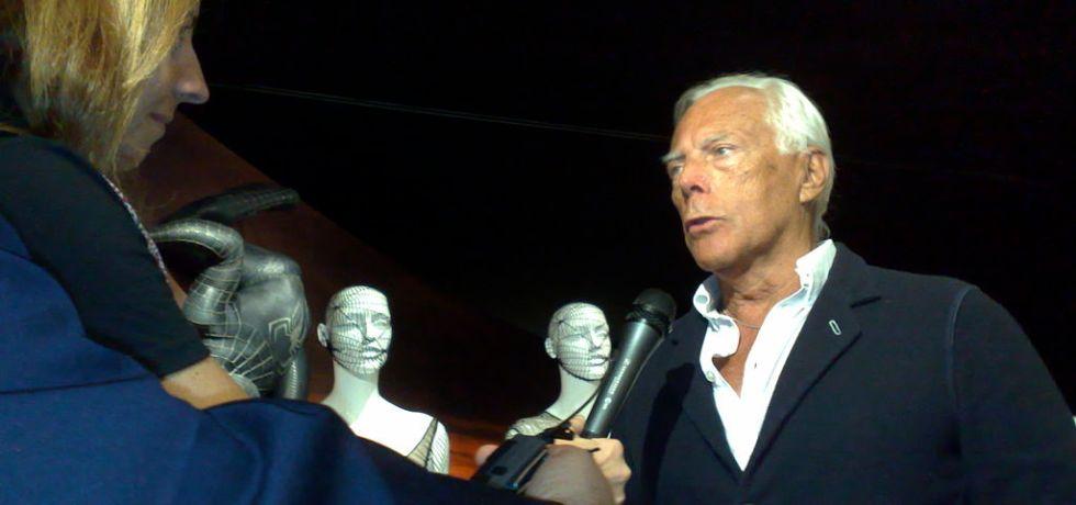 Giorgio Armani Career Change