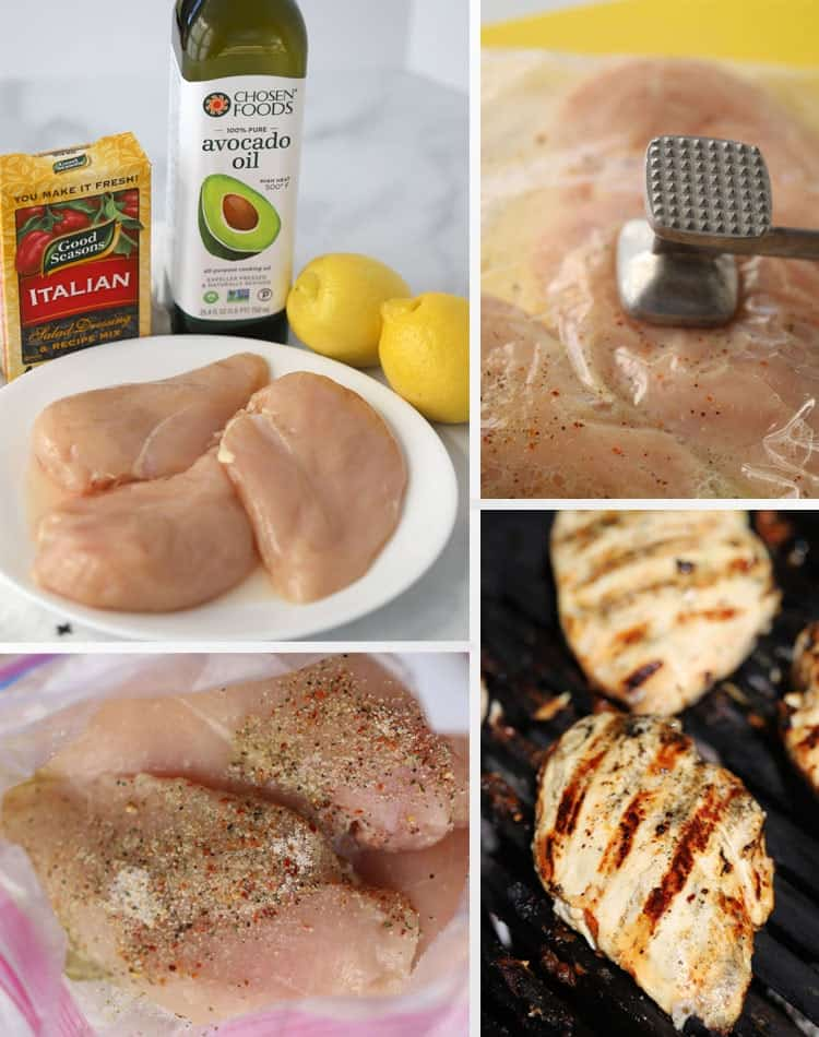 step by step guide on how to make chicken marinade