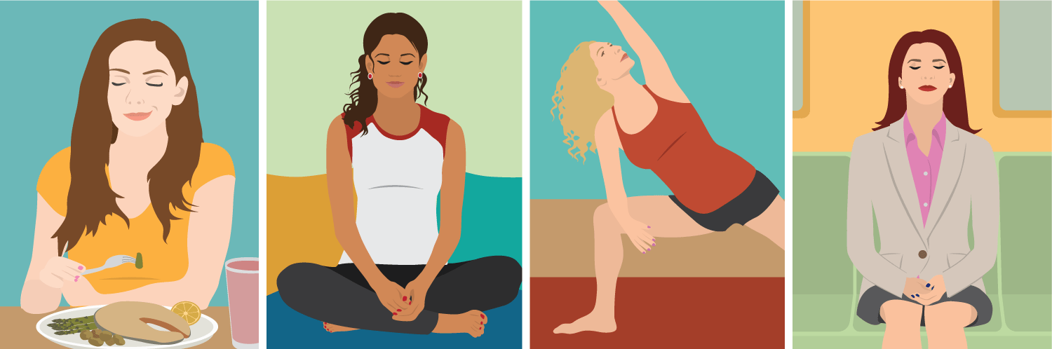 Cut stress in 15-minutes with these mindfulness techniques