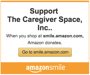 caregiver space amazon smile