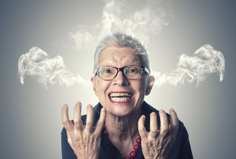 yelling the caregiver space