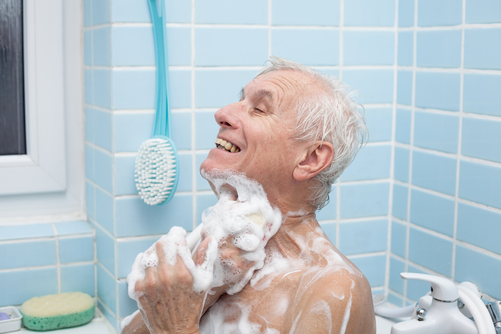 How to Help A Parent Who Refuses to Bathe or Shower | The Caregiver ...