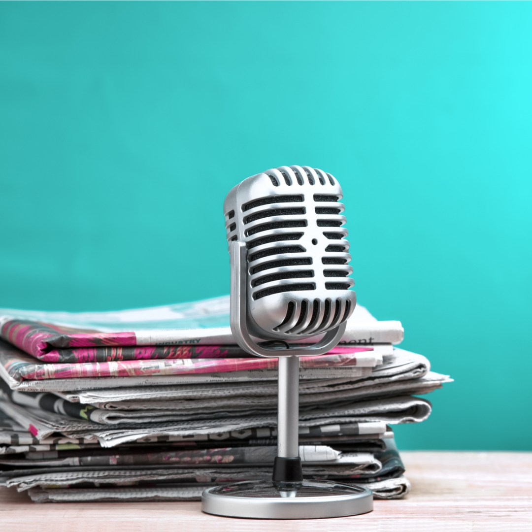 newspapers magazines podcasts talking about caregiving