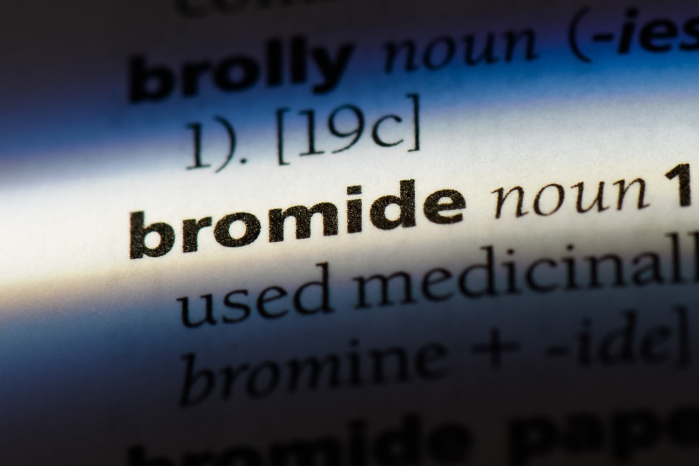 bromide word in a dictionary. bromide concept, a trite and unoriginal idea or remark, typically intended to soothe or placate