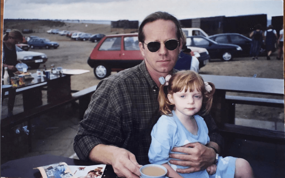 Chace and her dad in 1996PHOTO COURTESY OF CHACE BEECH