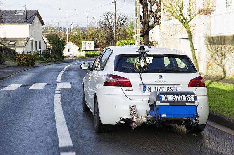 PSA real-world fuel economy testing