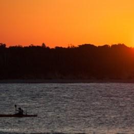 Sunset at Bundjalung National Park, New South Wales, Australia