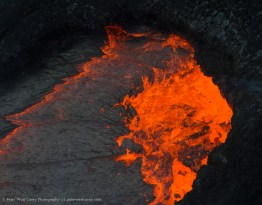 Pure lava, Hawaii Volcanoes National Park, Hawaii, USA