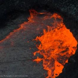 Pure lava, Hawaii Volcanoes National Park, Hawaii, USA