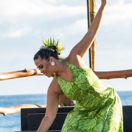 Luau Dancer, The Grand Wailea, Maui, Hawaii, USA