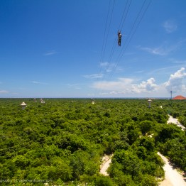 Ziplines at Xplor, Riviera Maya, Mexico