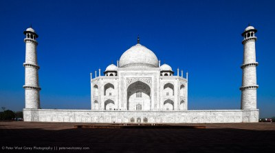 The Taj Mahal Bathed In Morning Light, Agra, India