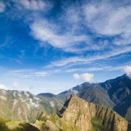 Above Machu Picchu, Peru