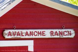 Avalanche Ranch, Carbondale, Colorado, USA