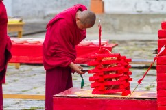 Monk and not quite Jenga