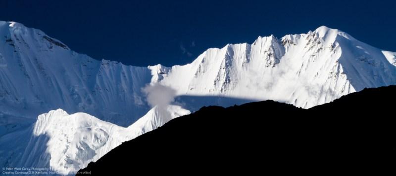 Nepali Himalayas Before Sunset