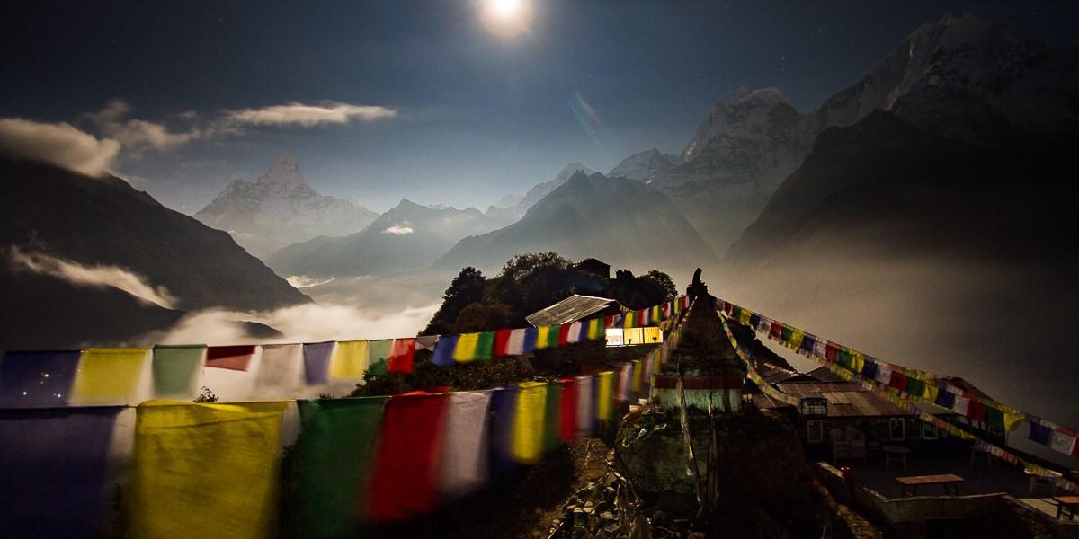 Mong La In Mystical Moonlight